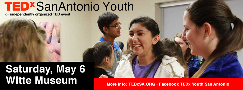 students from TEDxSA Youth event