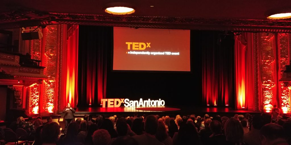 The TEDxSanAntonio audience awaits.