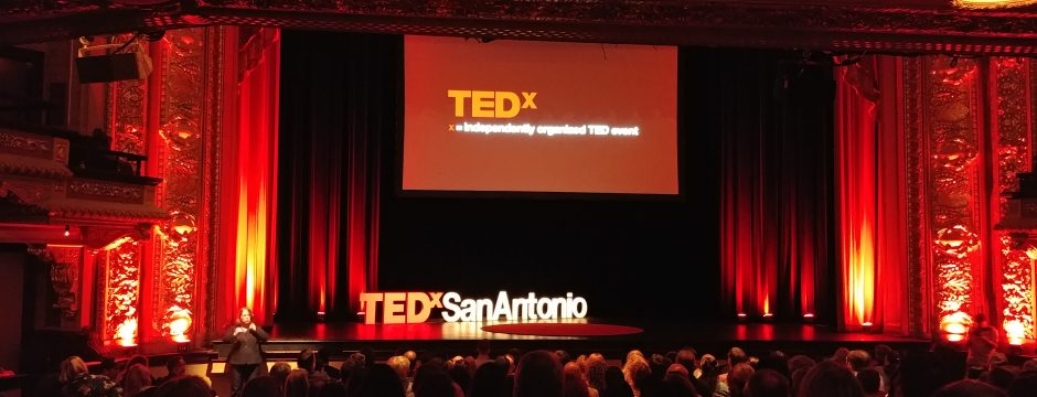 The TEDxSanAntonio audience awaits.